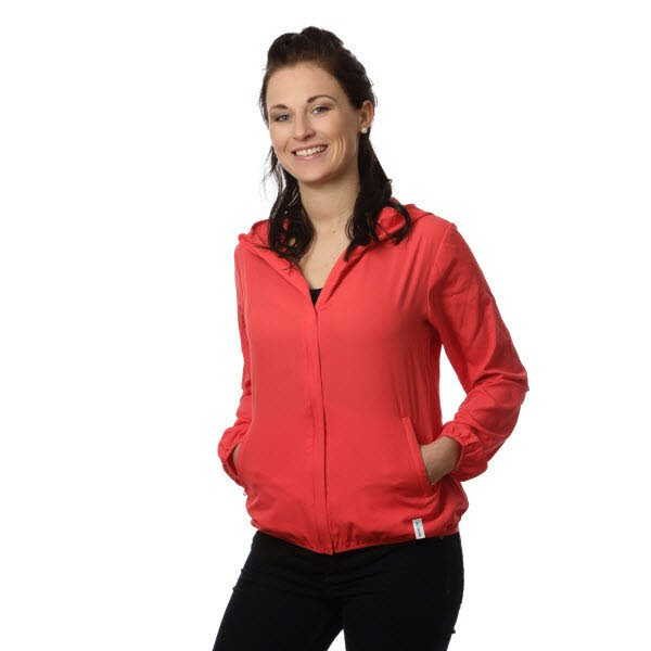 Windbreaker Babs hibiscus red - Bild 1
