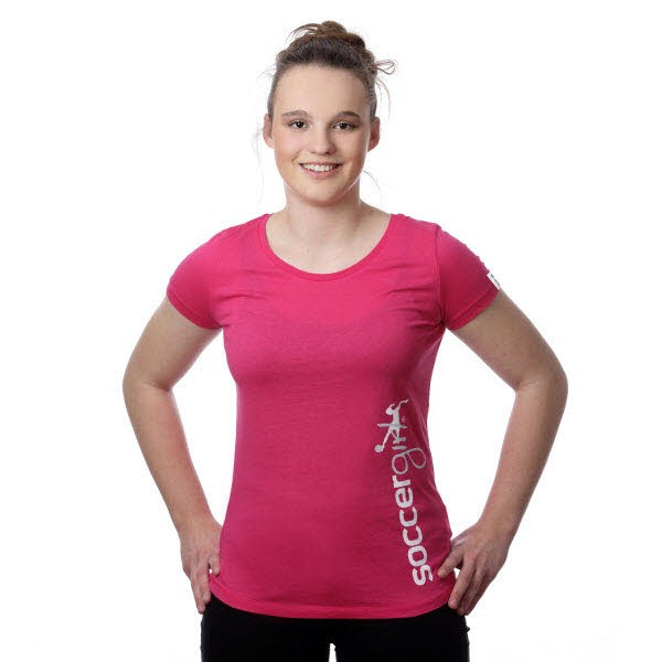 T-Shirt Theresa raspberry