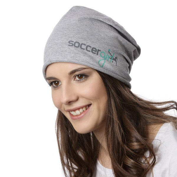 Beanie heather grey