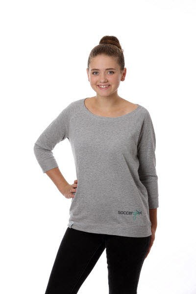 Sabrina Tencel Shirt Heather Grey - Bild 1